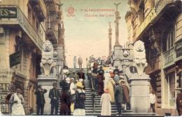 17)BLANCKENBERGHE -L'Escalier Des Lions.. (Feldpost) - Westende