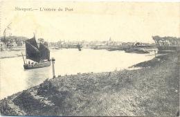 NIEUPORT. - L'Entrée Du Pont.(Feldpost) - Nieuwpoort
