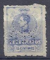 130605625  ESPAÑA  EDIFIL  Nº  53 PERFORATED (CAT 61€) - Télégraphe