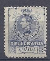 130605626  ESPAÑA  EDIFIL  Nº  53 PERFORATED (CAT 61€) - Télégraphe
