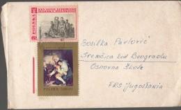 Poland Cover To Serbia - 1944-.... Republic
