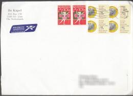Nederland Cover To Serbia - Period 1980-... (Beatrix)