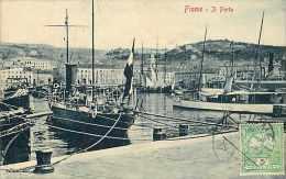 Pays Divers -croatie - Ref 673  - Fiume -il Porto - Le Port   - - Croatie