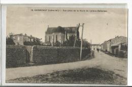 BARBECHAT N 15  VUE PRISE DE LA ROUTE DU LOUROUX BOTTEREAU - Otros Municipios