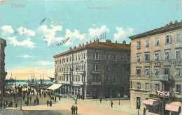 Pays Divers -croatie - Ref 672  - Fiume - Piazza Adamich - - Croatie