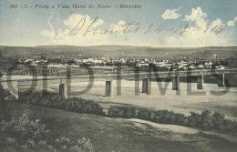 PORTUGAL - ABRANTES - PONTE E VISTA GERAL DO ROSSIO - 1910 PC. - Santarem