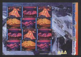 United States (UN New-York) - 2002 Year Of Mountain Sheet MNH__(THB-464) - New-York - Siège De L'ONU