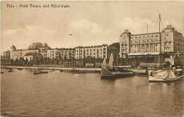 Pays Divers -croatie - Ref 662  -pola - Hotel Riviera Und Munzhaüser -  Carte Bon état - - Croatie