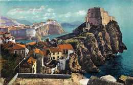 Pays Divers -croatie - Ref 653 -dubrovnik  Ragusa - Fort Lorenzo  - Carte Bon état - - Croatie