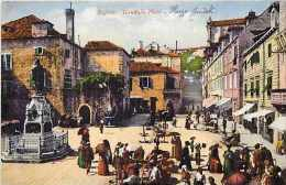 Pays Divers -croatie - Ref 652 -  Ragusa - Gundulic Platz -  - Carte Bon état - - Croatie