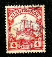(1429)  Kiautschou 1905  Mi.30  (o)  Catalogue  € 2.00 - Colony: Kiauchau