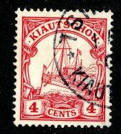 (1433)  Kiautschou 1901  Mi.7 (o)  Catalogue  € 2.50 - Colony: Kiauchau