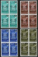Sharjah - UAE 1963 Freedom From Hunger FAO Agriculture Sc 36-39 BLK/4 Set O/P Gemini Space Shuttle MNH # 5230B - Agriculture