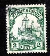 (1445)  Kiautschou 1905  Mi.29b (o)  Catalogue  € 2.50 - Colony: Kiauchau
