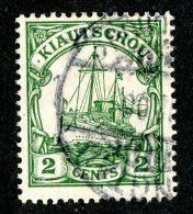 (1457)  Kiautschou 1905  Mi.19 (o)  Catalogue  € 2.00 - Colony: Kiauchau