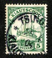 (1460)  Kiautschou 1901  Mi.6 (o)  Catalogue  € 2.00 - Colony: Kiauchau