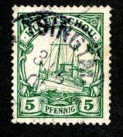 (1461)  Kiautschou 1901  Mi.6 (o)  Catalogue  € 2.00 - Colony: Kiauchau