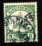 (1462)  Kiautschou 1901  Mi.6 (o)  Catalogue  € 2.00 - Colony: Kiauchau