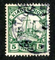 (1465)  Kiautschou 1901  Mi.6 (o)  Catalogue  € 2.00 - Colony: Kiauchau