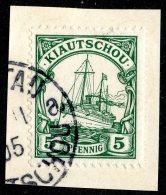 (1466)  Kiautschou 1901  Mi.6 (o)  Catalogue  € 2.00 - Colony: Kiauchau