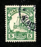 (1467)  Kiautschou 1901  Mi.6 (o)  Catalogue  € 2.00 - Colony: Kiauchau
