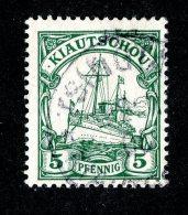 (1471)  Kiautschou 1901  Mi.6 (o)  Catalogue  € 2.00 - Colony: Kiauchau