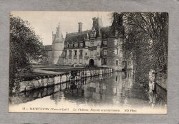 40821      Francia,   Maintenon  -  Le  Chateau  -  Facade  Septentrionale,  NV - France