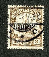 (1474)  Kiautschou 1905  Mi.28 (o)  Catalogue  € 2.00 - Colony: Kiauchau