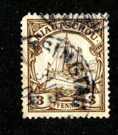(1476)  Kiautschou 1901  Mi.5 (o)  Catalogue  € 2.40 - Colony: Kiauchau