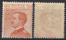 R559) V.E.III MICHETTI 20 CENT. 1925 NUOVO - Nuovi