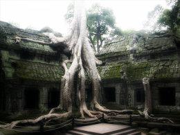 POSTAL DE AGNKOR - Camboya