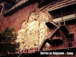 GRUTA DE MAIJISHAN POSTAL - China