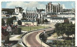 Oise :  BEAUVAIS  : L'  église  Saint  étienne - Beauvais
