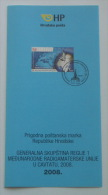 GENERAL CONFERENCE OF INTERNATIONAL AMATEUR RADIO UNION REGION 2008. - Croatia Post Official Postage Stamp Prospectus - Stamps