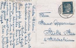 EHESTOORF über HH-Harburg - 1942  - Poststellen-Stempel - Deutschland