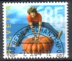 Zu 1136 / Mi 1892 / YT 1817 Obl. 1er Jour Demi-lune BERN 1 SCHANZENPOST - Switzerland
