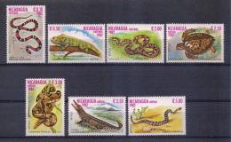 Nicaragua 1982 - Reptiles - Nicaragua