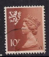 SCOTLAND GB 1976 10p Orange Brown Machin SG S29.  ( A931 ) - Regional Issues