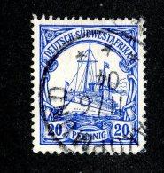 (1499)  S.W.A. 1901  Mi.14  (o)  Catalogue  € 1.80 - Colony: German South West Africa
