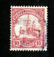 (1504)  S.W.A. 1906  Mi.26  (o)  Catalogue  € 1.80 - Colony: German South West Africa