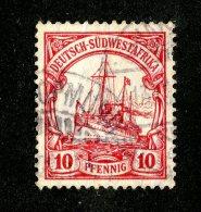(1510)  S.W.A. 1906  Mi.26  (o)  Catalogue  € 1.80 - Colony: German South West Africa