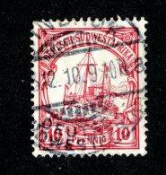 (1511)  S.W.A. 1906  Mi.26  (o)  Catalogue  € 1.80 - Colony: German South West Africa