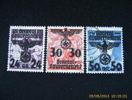 Dt.Reich - Generalgouvernement                              (B111) - Besetzungen 1938-45