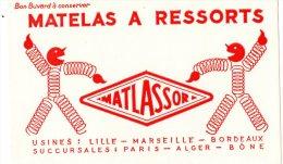 - Buvard - MATELAS à Ressorts - 986 - Textile & Vestimentaire