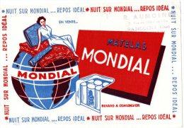- Buvard - MATELAS MONDIAL - 987 - Textile & Vestimentaire