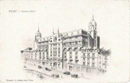 BELLE CPA ILLUSTREE : VICHY CARLTON-HOTEL 03 ALLIER - Vichy