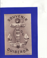 +5656)  QUIBERON  Souvenir Et Marin  :Très Très Bon état : 7 - Quiberon