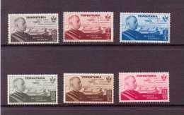 TRIPOLITAINE 1934  YVERT N°A63/68  NEUF MH* - Tripolitania
