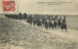 GRANDES MANOEUVRES DU CENTRE 1908 INFANTERIE EN MARCHE - Manovre