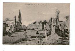 CPA De AMIFONTAINE 02 - Rue De La Carriere - Other Municipalities